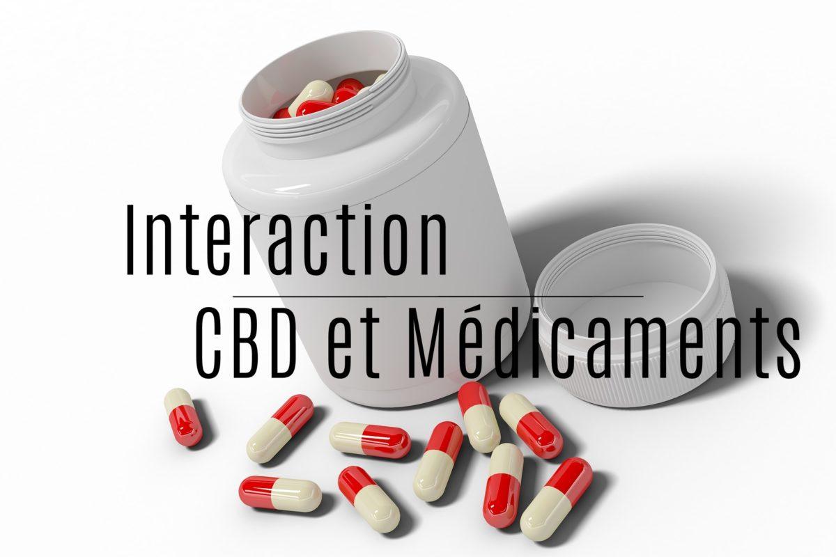 interaction cbd et medicaments
